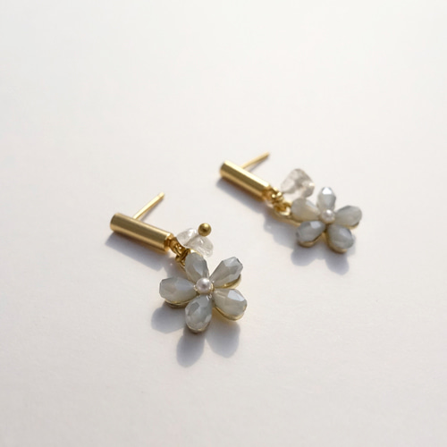 EARRINGS EARL GREY